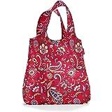 reisenthel AT3067 mini maxi shopper paisley ruby – Einkaufsbeutel mit 15l Volumen bei winzigem Packmaß – B 43,5 x H 63 x T 6