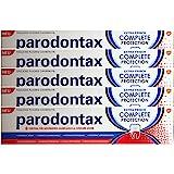 5 x Parodontax komplett skydd fluortandkräm 8 fördelar ny tandkräm 75 ml