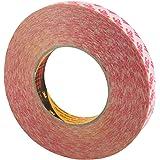 3M, 9088, dubbelzijdig plakband van PET, sterk klevend, keuze uit verschillende breedtes / 12 mm x 50 m