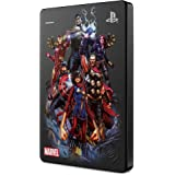 """Seagate Game Drive pour PS4, 2 To, Avengers Special Edition - Team, Disque Dur Externe Portable, 2,5"""", USB 3.0, compatible av"""