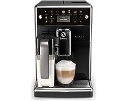 Saeco Espressomachine PicoBaristo Deluxe - 13 Koffievariëteiten - 4 gebruiksprofielen - Geintegreerde melkbeker - Keramische
