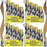 PIC Attrape Mouches - 16x - Rouleaux de Papier Tue-Mouches - respectueux de l'environnement, Non Toxique avec Un Effet fiable