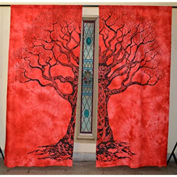 Buy Heyrumbh Handicrafts Life Of Tree Curtains Tapestry Indian