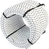 Magma Elastische Koordrol | 8mm Diameter Bungee touw voor Vissen Zeilen Varen Kamperen en Dekzeilen | Gebruik voor Binnen Bui