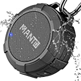 MANTO Cassa Bluetooth Tascabile Altoparlante Bluetooth Impermeabile IPX5, 12 Ore Playtime, Bluetooth Mini Speaker, Stabile Co