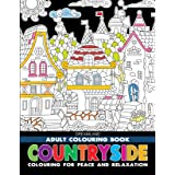 Countryside- Colouring Book for Adults