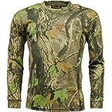 Mens STORMKLOTH Camouflage God's Camo T Shirt - Long Sleeve
