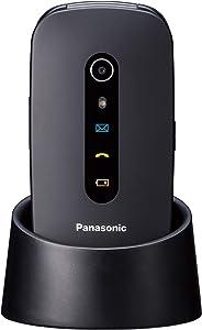 Panasonic KX-TU466EXBE - Teléfono Móvil para Mayores (Pantalla Color 2.4