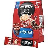Nescafe 3in1 Coffee Mix 20g Sachet, 40 Pieces