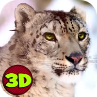 Wild Snow Leopard Survival Simulator 3D