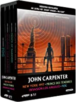 John Carpenter - Coffret : New York 1997 + Prince des ténèbres + Invasion Los Angeles + Fog [4K Ultra HD  bonus -...