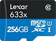 Lexar High-Performance 633x 256GB microSDXC UHS-I Card