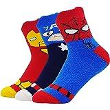 JJMax Calcetines de colección Boy's Cotton Blend Superhero