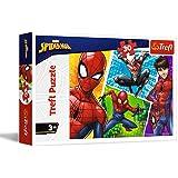 Trefl und Miguel, Marvel Spiderman 30 Teile, für Kinder AB 3 Jahren Puzzle, 18242