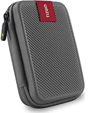 Tizum Double Padded TZ-HDD 2.5-inch External Hard Drive Case (Gray)