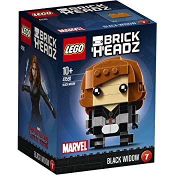LEGO 41591 - Brickheadz, Black Widow