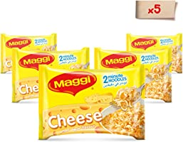 Maggi 2 Minutes Noodles Cheese 77g (Pack of 5)