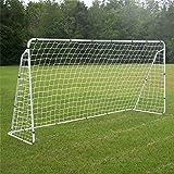 Vobor Mål för fotboll – fotbollsmål post nät, ersättning mål för fotbollsmålnät, polypropenfiber sport match träningsverktyg