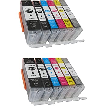 ESMOnline Multipack 6 komp. XL Druckerpatronen für Canon