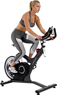 Sunny Health & Fitness Unisex Adult 7130 Asuna Lancer Rear Drive Magnetic Commercial Indoor Cycling Bike - Black, One Size