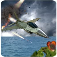 F16 Air Jet Fighter Simulator Aventure 3D: Combat de chiens Air Pilot Strike Combat Vol Survival Hero Jeux de Force Avion Gratuit pour les enfants 2018