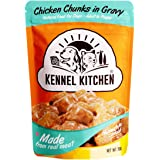 Kennel Kitchen Puppy and Adult Wet Dog Food Chicken Chunks in Gravy, 70g (Pack of 12)