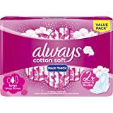 Always Sanitary Pads Large With Wings 50 Pieces