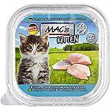 Menge: 6 je Bestelleinheit MACs Cat Kitten Kalb /& Hühnerherzen 800g