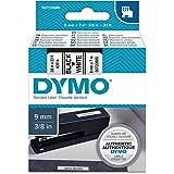 Dymo D1 Standart Etiket Şeridi, 9 mm X 7 m,Beyaz Zemin Üstüne Siyah Baskı