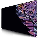 TITANWOLF - Tapis de Souris Gaming XXL 1200x600mm - Tapis de Table Surdimensionné Extra Grand XXXL – pour précision et rapidi