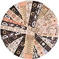 240 Feuilles Autocollant Washi Papier Vintage Astronomie Autocollants Vintage DIY Scrapbooking de Cartes Anciennes Espace Pla