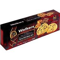 Walkers Shortbread, Salted Caramel Milk Chocolate Chip Buttergebäck mit gesalzenem Karamell, Schokolade, 150 gramm