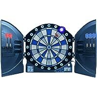 Best Sporting elektronische Dartscheibe Cambridge mit LED beleuchteten Ziffern, Kabinett Dartboard mit 6 Dartpfeilen…