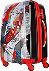 """GAMME Polycarbonate 20"""" Multicolor Marvel Spiderman Hard Sided Children's Luggage"""
