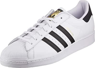 adidas Originals Superstar, Scarpe da Ginnastica Uomo, Ftwr White/Core Black/Ftwr White, 35.5 EU