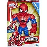 Hasbro Playskool Heroes,E4147ES0, Playskool Heroes Marvel Super Hero Adventures Mega Mighties Spider-Man, 25 cm große Actionfigur NA