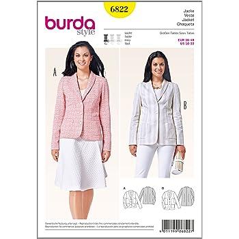 Burda Schnittmuster b6898 ensemble-pantalon 19 x 13 cm: Amazon.de ...
