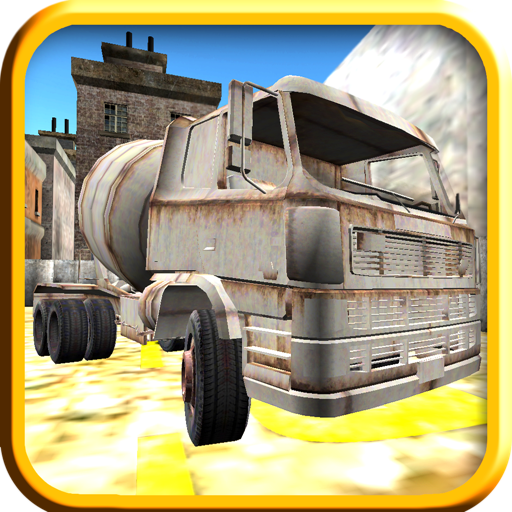 cement-remicon-truck-parking-test-simulator