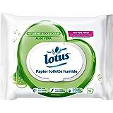 Lotus Vått toalettpapper Aloe Douceur – 42-pack