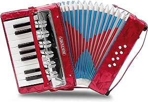 Bontempi - Acw 17.3 - Instrument À Vent - Accordéon - 17 Touches