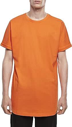 Urban Classics Men's Long Shaped Turnup Tee T-Shirt