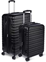 AmazonBasics Hardside Spinner Luggage - 2 Piece