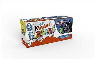 Kinder Huevo Sorpresa - Pack de 8 x 3 Unidades [Total: 24 unidades]