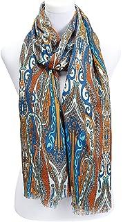 d467d73654d Subke écharpe femme foulard imprimé paisley- disponibles en plusieurs  couleurs