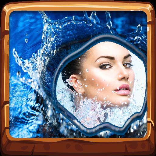 Wasser-Foto-Rahmen