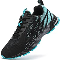 HIIGYL Mens Trainers Road Running Shoes Walking Tennis Trainers Fitness Gym Trainers Lightweight Jogging Shoes…