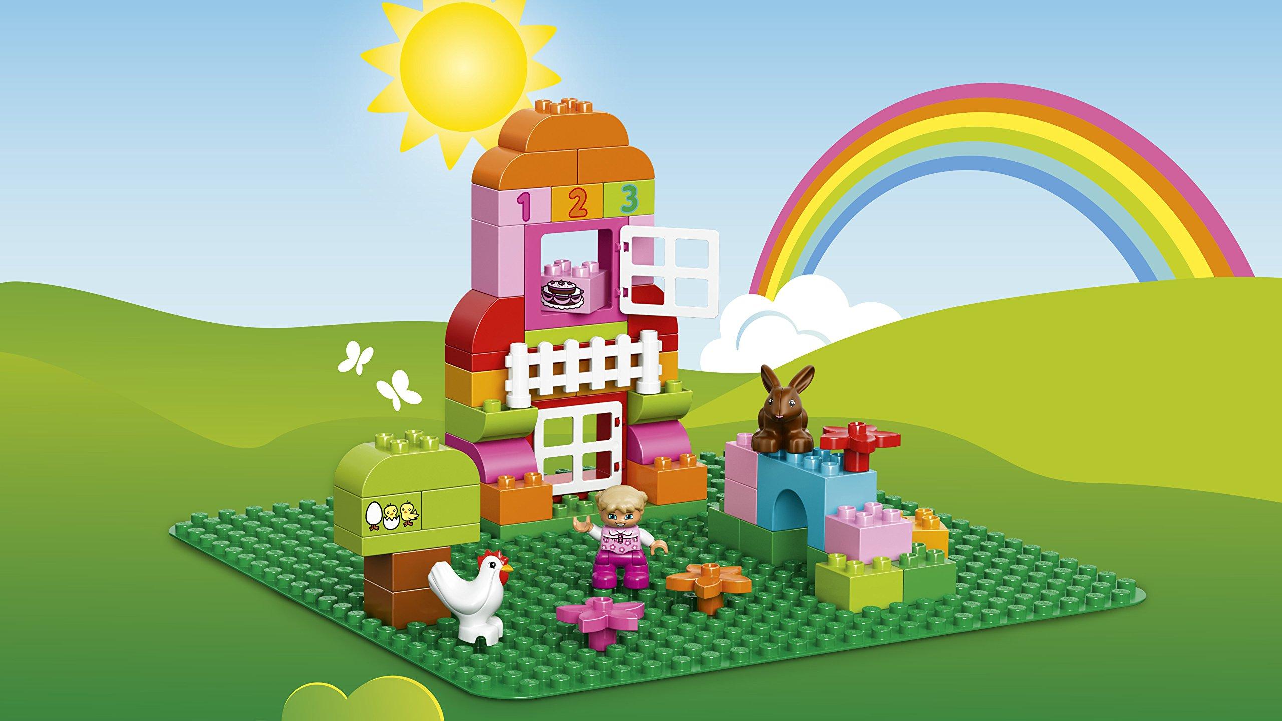 LEGO Duplo Base per Costruzioni, Verde, 2304 5 spesavip