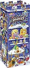 Smarties bunter Adventskalender, Weihnachtskalender für Kinder, mit Schokolade & Pralinen gefüllt, für Jungen und Mädchen, 1 x 227 g
