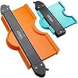 Jauge de Contour Verrouillable, VIRIDI 2pcs 25cm et 12cm Copieur de Profil Contours Outils Menuiserie Bricolage Carrelage ou
