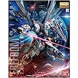 GUNPLA BANDAI Bandai-Maquette Gunpla MG 1/100 Freedom GundamVer.2.0-Robot à construire-83297P/204883, 83297P, Multicolor